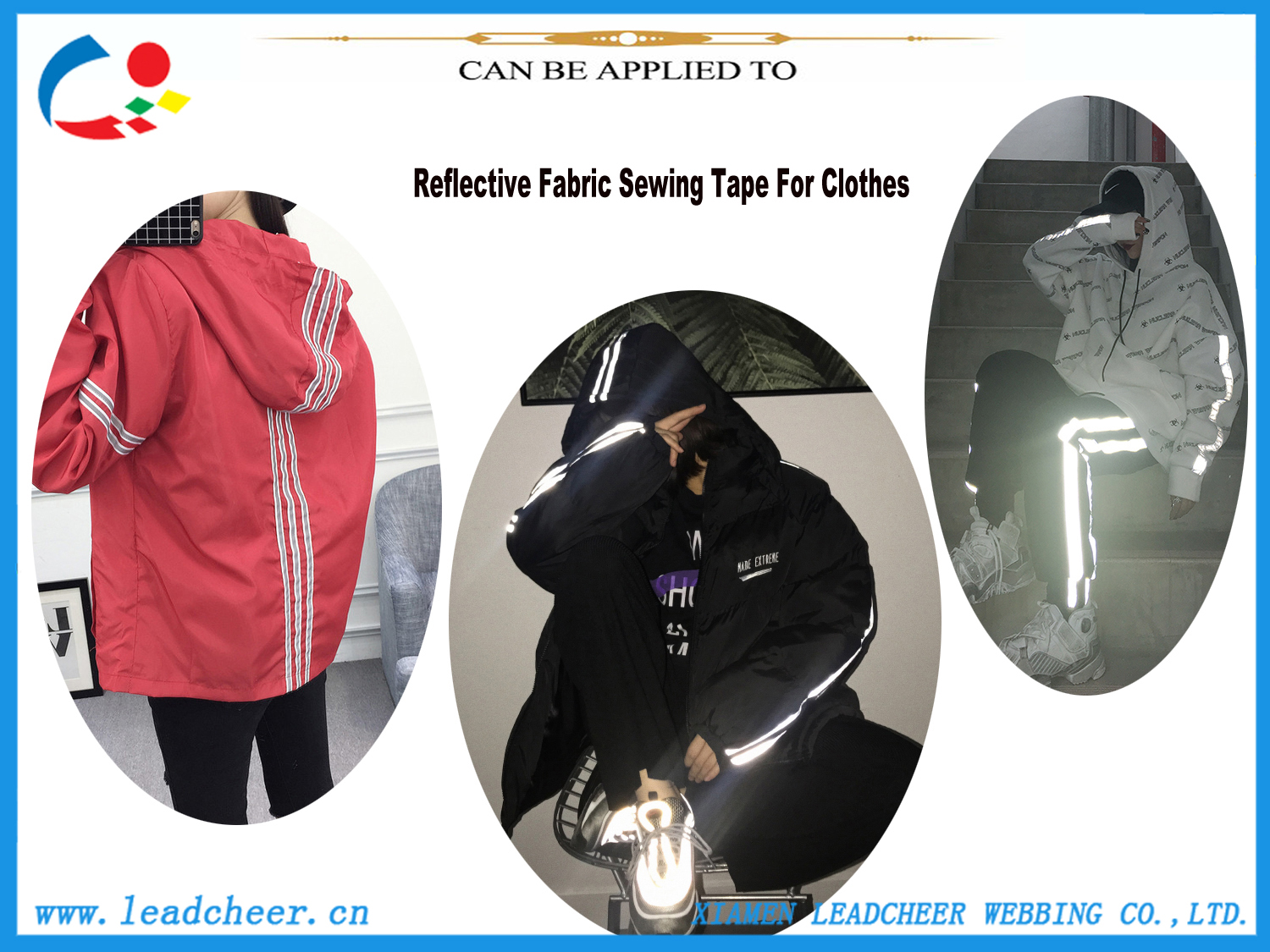 reflective material for clothing